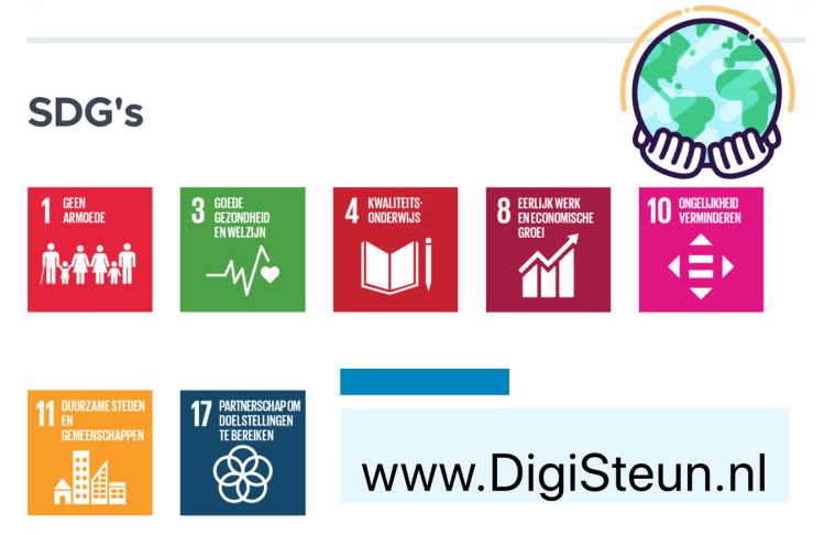 SDG DigiSteun